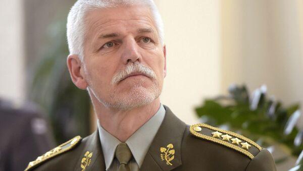 Przewodniczący Komitetu Wojskowego NATO Piotr Paweł - Sputnik Polska