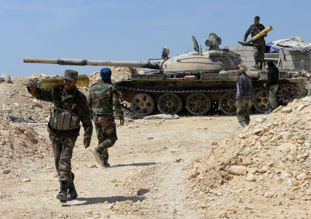 Konflikt w Syrii
