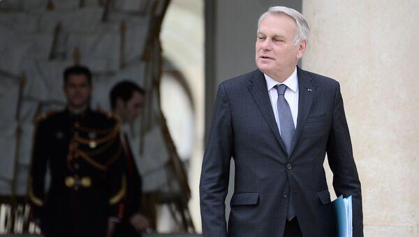 Minister spraw zagranicznych Francji Jean-Marc Ayrault - Sputnik Polska