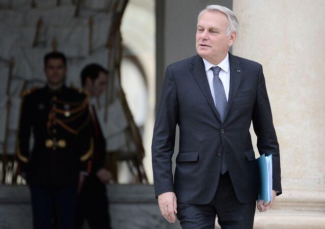 Minister spraw zagranicznych Francji Jean-Marc Ayrault