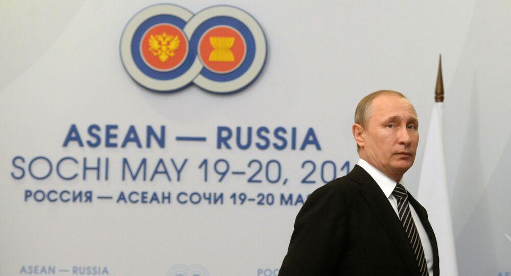 Szczyt Rosja - ASEAN w Soczi