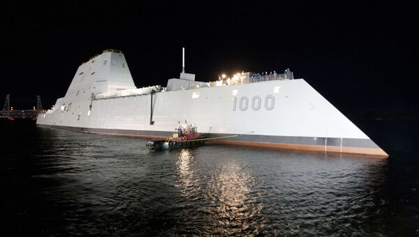 Okręt typu USS Zumwalt - Sputnik Polska