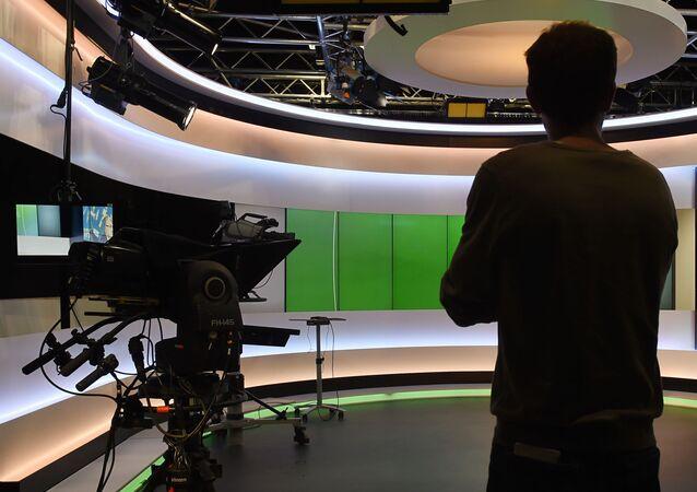 Studio telewizyjne Euronews we Francji