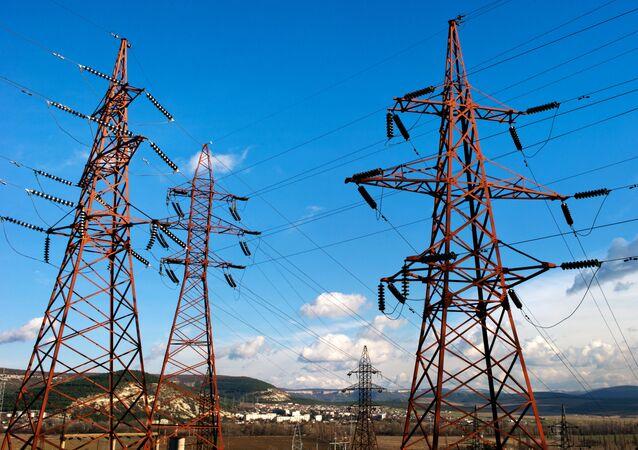Sieć energetyczna na Krymie