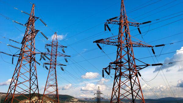 Sieć energetyczna na Krymie - Sputnik Polska