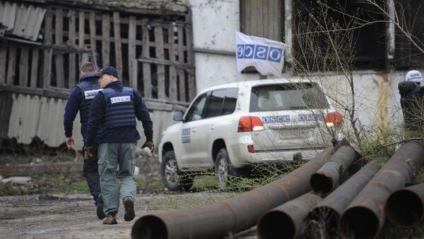Specjalna Misja Monitorująca OBWE na Ukrainie - Sputnik Polska