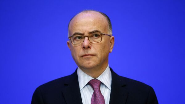 Szef MSW Francji Bernard Cazeneuve - Sputnik Polska