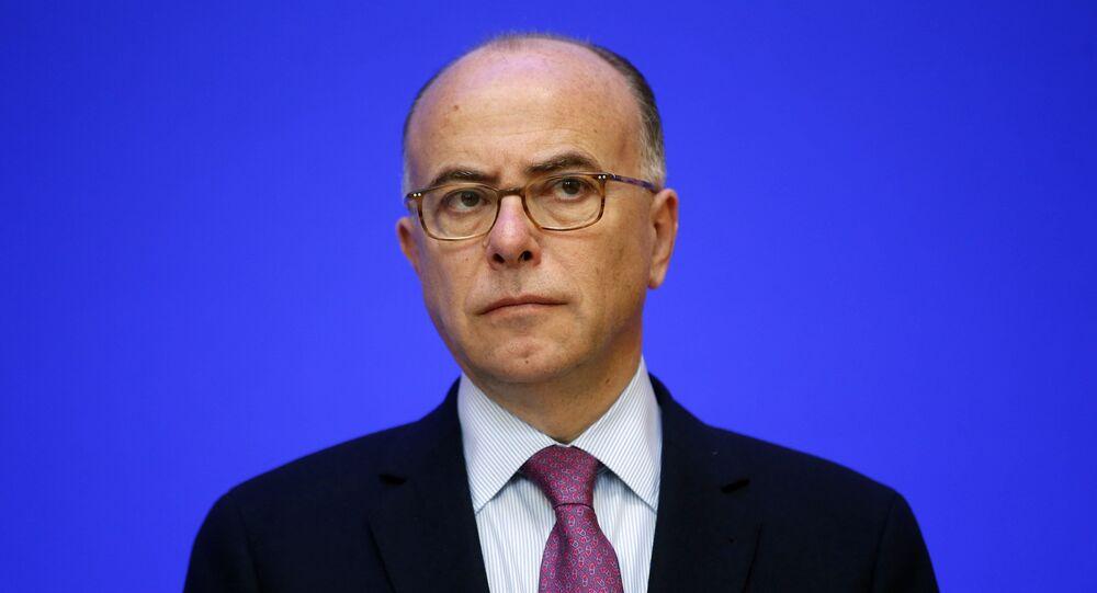Szef MSW Francji Bernard Cazeneuve