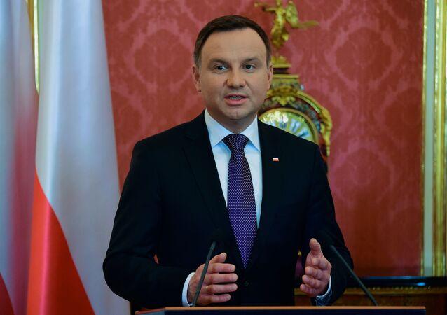 Prezydent Polski Andrzej Duda