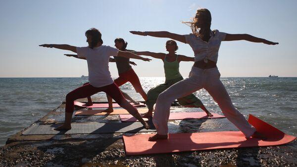 Centrum jogi w Tuapse w Rosji - Sputnik Polska
