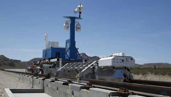 Testowanie pociągu próżniwego Hyperloop w Las Vegas - Sputnik Polska