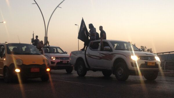 Bojownicy z Państwa Islamskiego w Iraku - Sputnik Polska