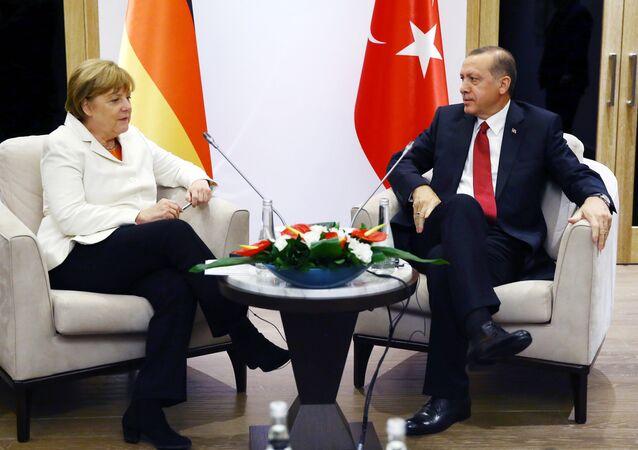 Angela Merkel i Recep Tayyip Erdogan