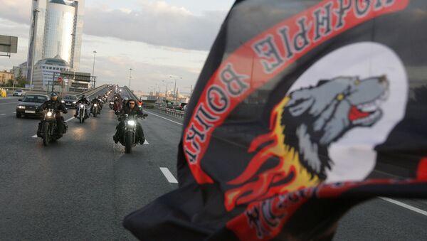 Rosyjski klub motocyklowy Nocne Wilki - Sputnik Polska