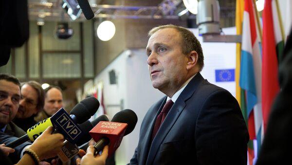 Polens Außenminister Grzegorz Schetyna - Sputnik Polska