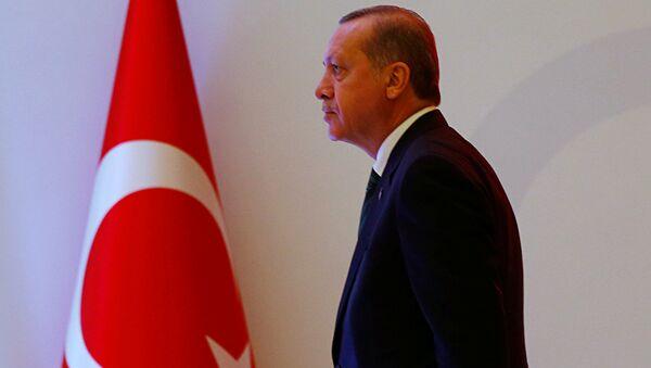 Prezydent Turcji Tayyip Erdogan w Stambule - Sputnik Polska