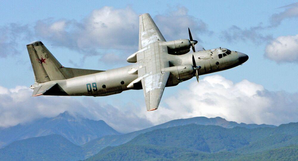 Samolot wojskowo-transportowy An-26