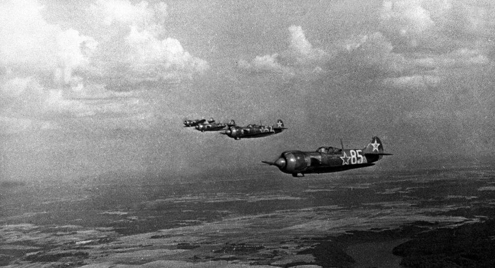 Wielka Wojna Ojczyźniana 1941-1945: w niebie myśliwce rosyjskie