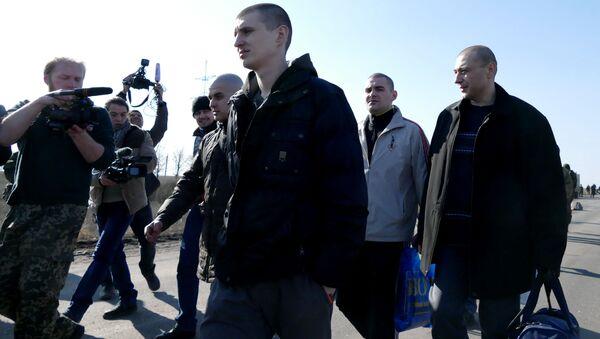 Wymiana jeńców między DRL a Ukrainą - Sputnik Polska