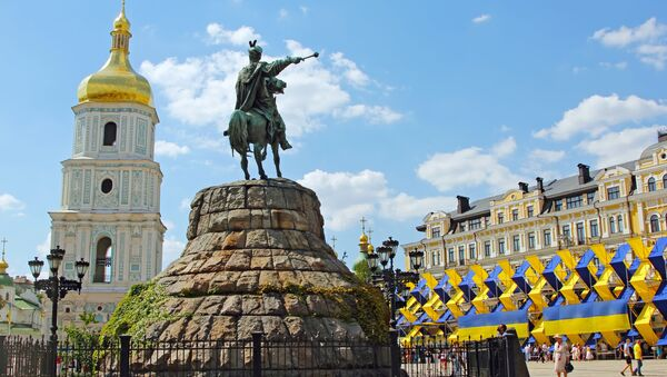 Plac Sofijski w Kijowie - Sputnik Polska