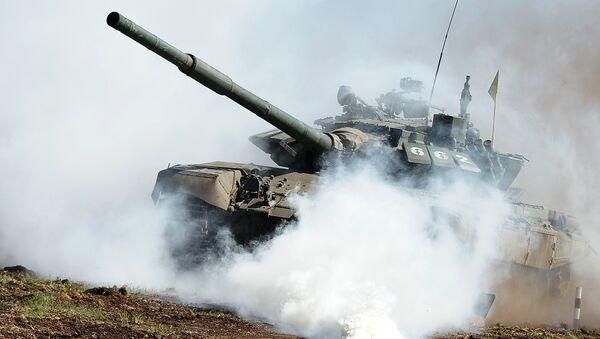Czołg T-72 w obwodzie czelabińskim - Sputnik Polska
