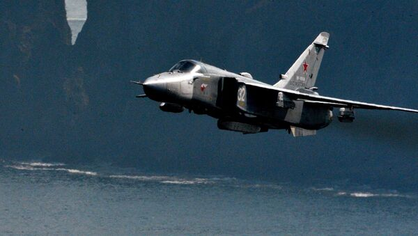 Rosyjski bombowiec Su-24 - Sputnik Polska