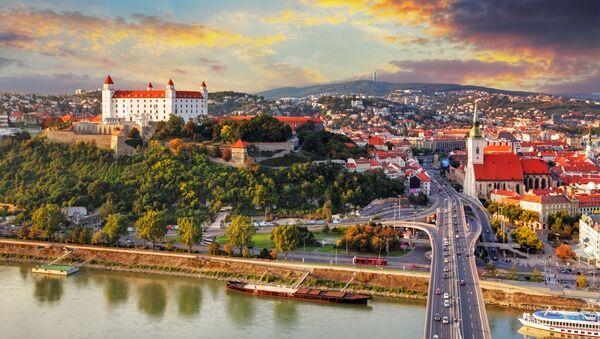 Widok na Bratysławę - Sputnik Polska