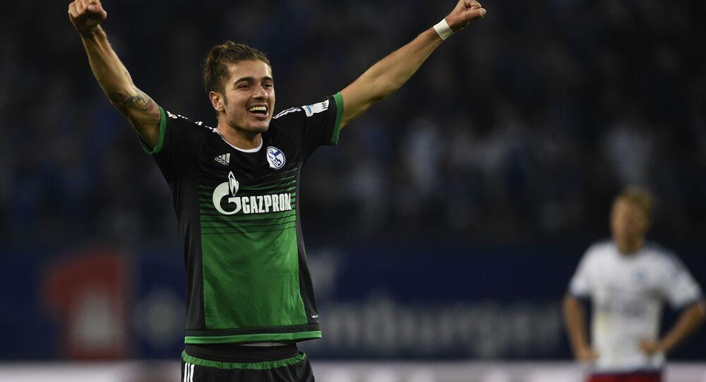 Niemiecki piłkarz Roman Neustädter