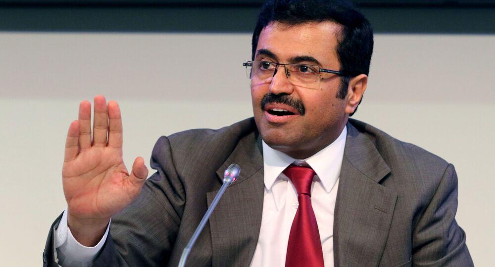 Prezydent OPEC i minister energetyki Kataru Mohammed al-Sada