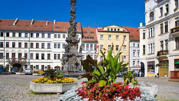 Czeskie miasto Teplice - Sputnik Polska