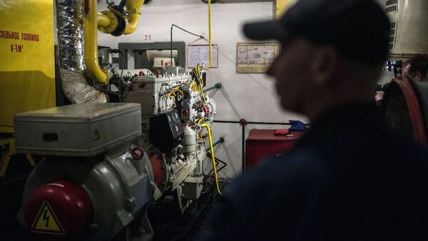 Generator prądu z samoczynnym zapłonem w bunkrze na Altufijewskiej Szosie w Moskwie. - Sputnik Polska