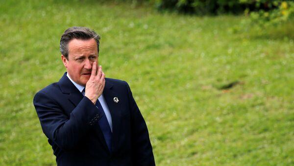 Premier Wielkiej Brytanii David Cameron - Sputnik Polska