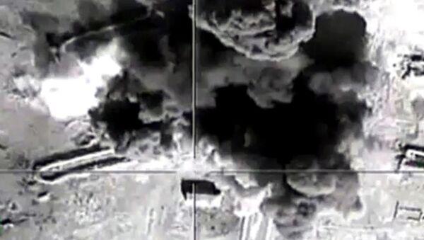 Naloty rosyjskich sił powietrznych na pozycje Państwa Islamskiego - Sputnik Polska