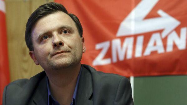 Mateusz Piskorski, lider partii Zmiana. - Sputnik Polska