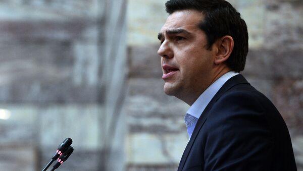 Premier Grecji Alexis Tsipras - Sputnik Polska