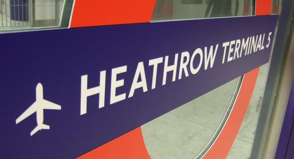 Brytyjskie lotnisko Heathrow