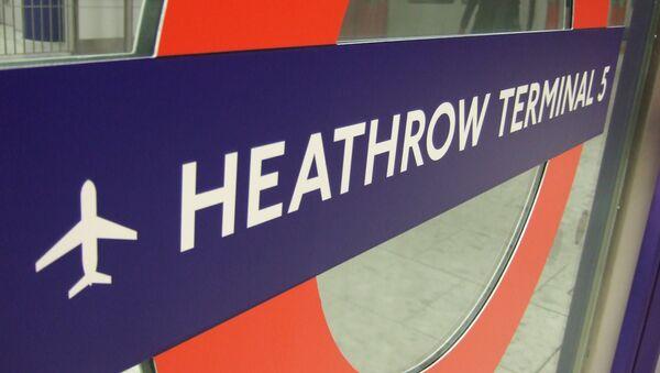 Brytyjskie lotnisko Heathrow - Sputnik Polska