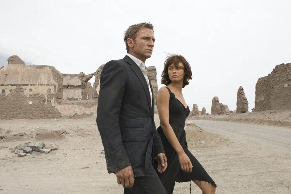 Kadr z filmu 007 Quantum of Solace
