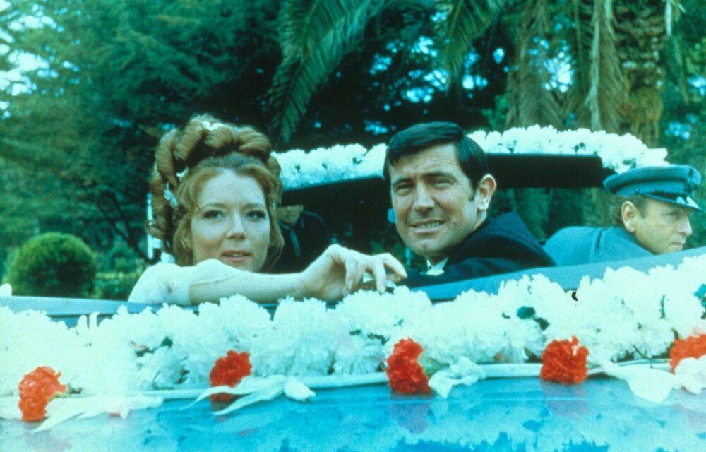 Kadr z filmu W tajnej służbie Jej Królewskiej Mości