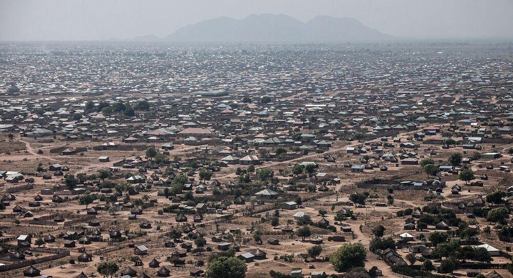 Widok na Dżubę, stolicę Sudanu Południowego