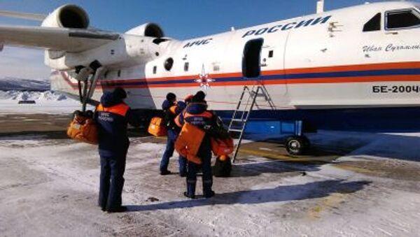 Samolot amfibia Be-200CzS - Sputnik Polska