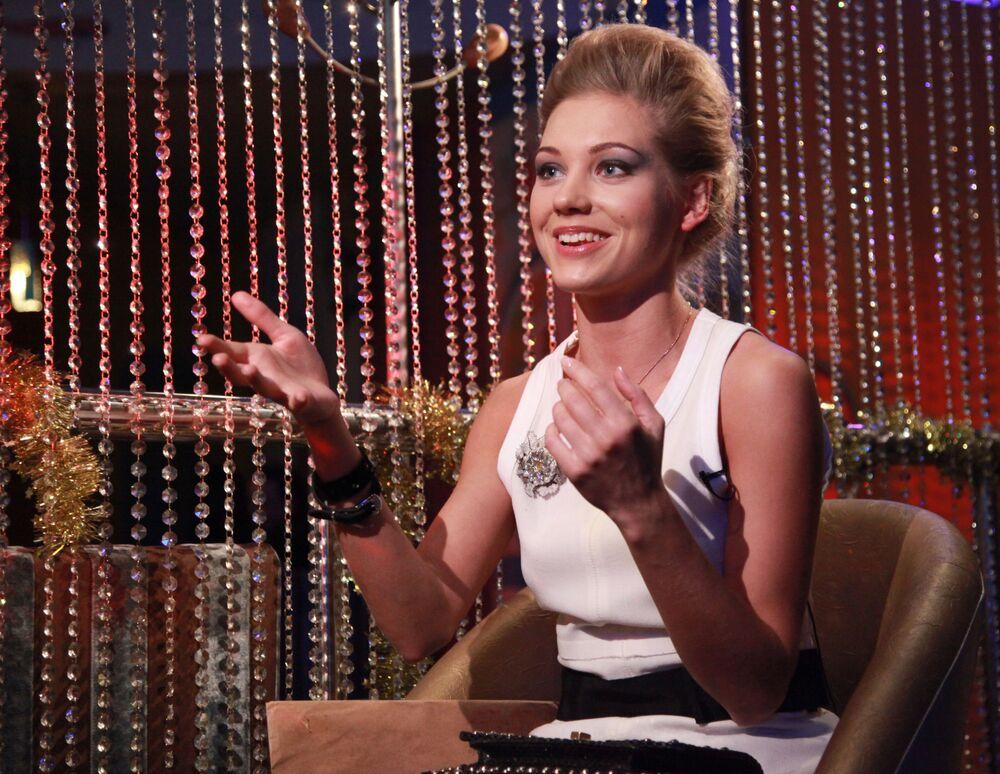 Jedna z najbardziej znanych młodych rosyjskich aktorek – blondynka Kristina Asmus.