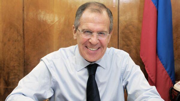 Szef rosyjskiej dyplomacji Siergiej Ławrow - Sputnik Polska