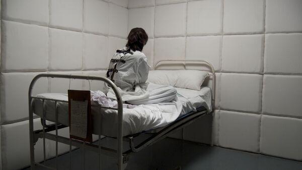 Pacjentka szpitala psychiatrycznego - Sputnik Polska