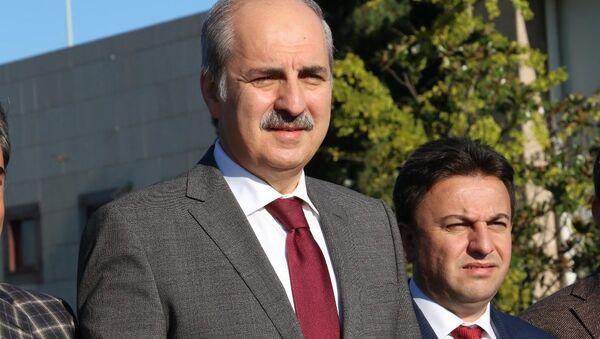 Wicepremier Turcji Numan Kurtulmuş - Sputnik Polska