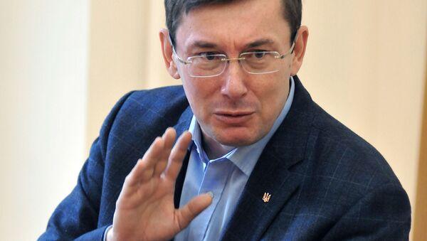 Przewodniczący Bloku Petra Poroszenki Jurij Łucenko - Sputnik Polska