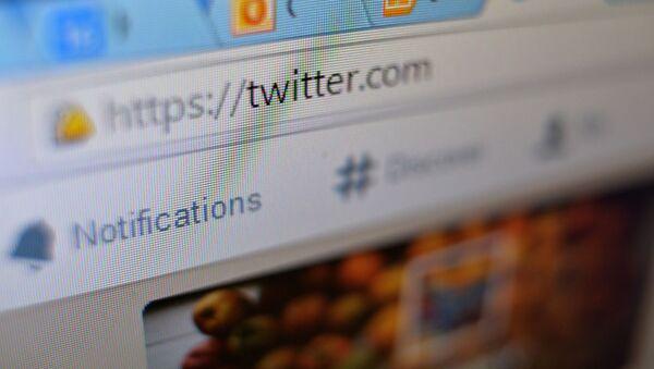 Portal społecznościowy Twitter - Sputnik Polska
