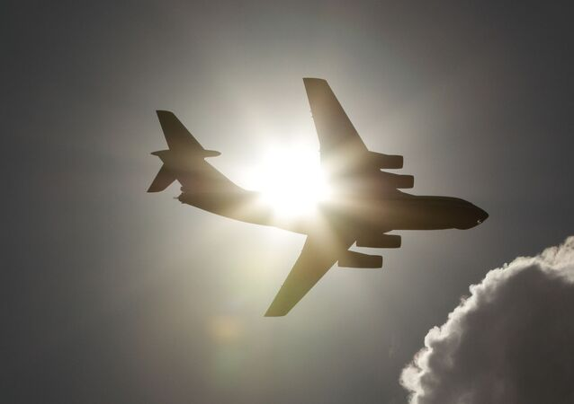 Rosyjski samolot Ił-76