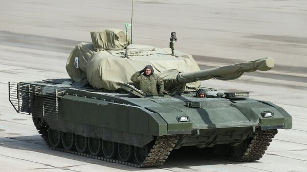 "Czołg T-14 ""Armata"" - Sputnik Polska"