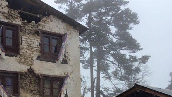 Trzęsienie ziemi w Nepalu - Sputnik Polska